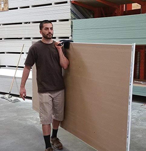 Heavy Duty Gripper Drywall Sheet Panel Carrier Gripper Fit for Wood Board Plywood Marble Handling Metal Sheet Lifting Tool yunbox299 Gorilla Gripper