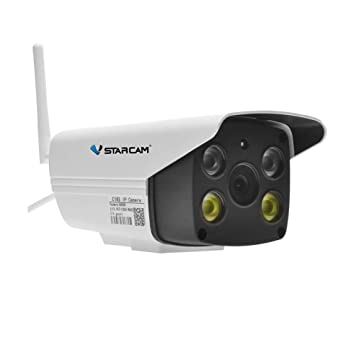 Cámaras De Vigilancia Wifi, Cámaras De Vigilancia Interior/Exterior HD 1080P P2P IP66 Detección