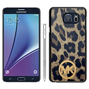 Newest M-K Samsung Galaxy Note 5 Case ,Unique Michael Kors 89 Black Samsung Note 5 Cover Case Fashion And Durable Designed Phone Case