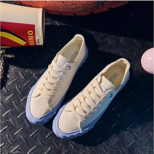 Tonda Blue Scarpe Primavera Per TTSHOES Corda 5 Comoda 5 US7 UK5 Piatto Footing Sneakers EU38 Rosa Punta Viola Donna CN38 Estate Blu Di wqp7Ead7