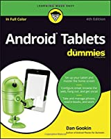 Android Tablets For Dummies, 4th Edition Front Cover