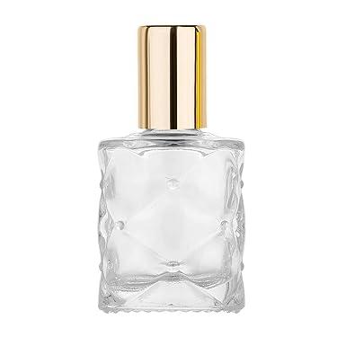 WONdere - Botellas de perfume rellenables de cristal vacías ...