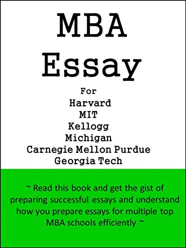 Proposal Essay Topic Ideas Mba Essay For Harvard Mit Kellogg Michigan Carnegie Mellon Purdue Topics For An Essay Paper also Computer Science Essays Amazoncom Mba Essay For Harvard Mit Kellogg Michigan Carnegie  Thesis For Argumentative Essay