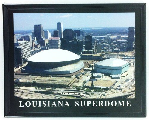 New Orleans Saints Louisiana Superdome Framed Aerial Photo F7613A ()