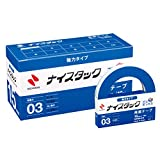 NWBB-K15 NICHIBAN NICETACK Bun strong box type double-sided tape 15mm x 18m 10 rolls into Shinji (japan import)