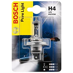 Ampoule H4 Bosch Pure Light 12 V 60/55 W