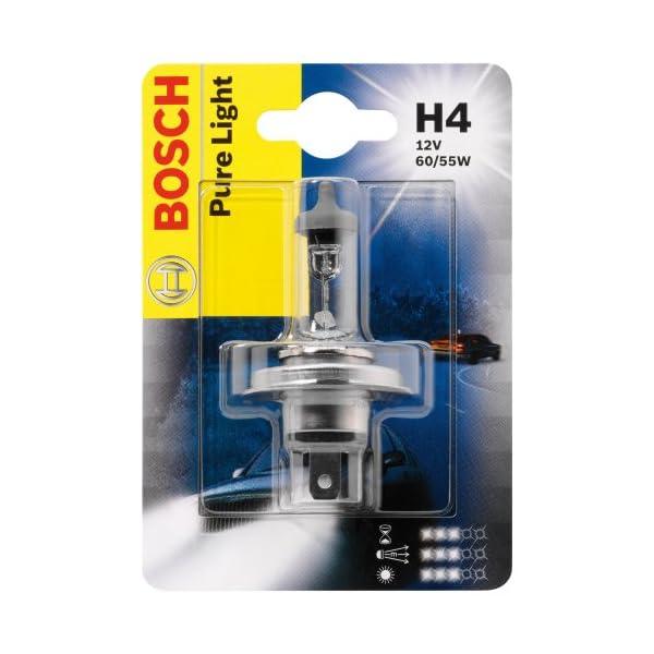 Ampoule H4 Bosch Pure Light 12 V 60/55 W