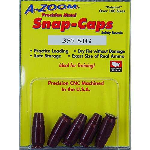 (Pachmayr 357 Sig Azoom Snap Caps 5 Rounds -)