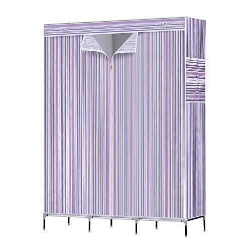 NEX Wardrobe Storage Closet Clothes Portable Non-Woven for sale  Delivered anywhere in USA