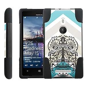 [ManiaGear] Rugged Armor-Stand Design Image Protect Case (Tribal Chevron) for Nokia Lumia 925
