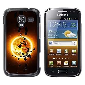 Be Good Phone Accessory // Dura Cáscara cubierta Protectora Caso Carcasa Funda de Protección para Samsung Galaxy Ace 2 I8160 Ace II X S7560M // The Sun & Asteroids
