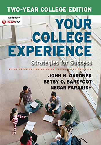 Download Your College Experience, Two-Year College Edition Pdf