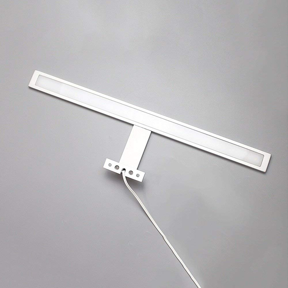 Weiß-10w50cm BAIF LED Spiegelschrank Lichter Aluminium Acryl (Farbe  Weiß-10w50cm)