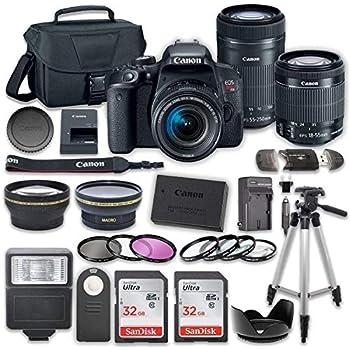 Amazon com : Canon EOS REBEL T7i EF-S 18-135 IS STM Kit