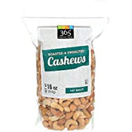 365 Everyday Value, Cashews Roasted & Unsalted, 16 oz