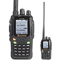 Wouxun KG-UV8D Dual-Band 134-174/400-520 MHz 999CH Repeat Two-way Radio Walkie Talkie + Cable