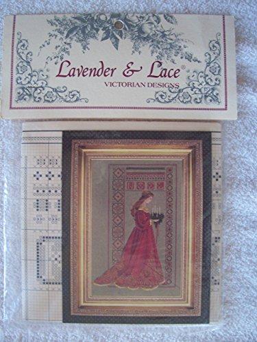 Lace Stitch Cross - Lavender & Lace Counted Cross Stitch Chart Pattern - Celtic Christmas