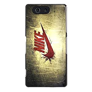 Custom Design Logo Nike Phone Case Cover for Sony Xperia Z3 Compact Mini Just Do It Stylish