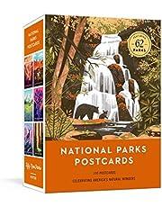 National Parks Postcards: 100 Illustrations That Celebrate America's Natural Wonders