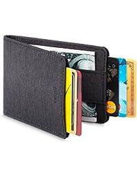 Mens Wallet RFID Minimalist Slim Thin Front Pocket Card Holder - CSBW