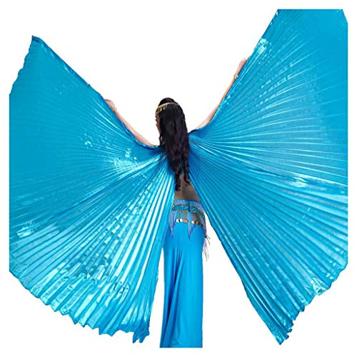 Pilot-trade Women's Egyptian Egypt Belly Dance Costume Bifurcate Isis Wings Sky - Diva Gown