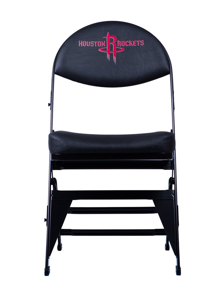 Spec Seats Official NBA Licensed X-Frame Courtside Seat Houston Rockets