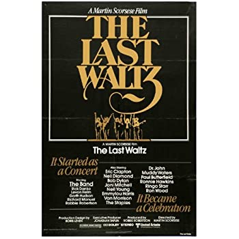 Amazon.com: The Last Waltz 11x17 Movie Poster (1978): Lithographic ...