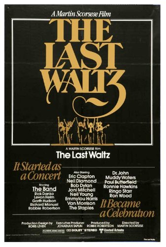 amazon com the last waltz 11x17 movie poster 1978 lithographic
