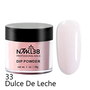 Amazon.com : NMKL Nail Dip Powder Professional Manicure Tools, Natural Dry, No Nail Lamp Curing, 1 oz (Dulce de Leche) : Beauty