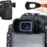 Soft Silicon Camera Viewfinder Eyecup Eyepiece Eyeshade for Nikon D750 D610 D600 D7500 D7200 D7100 D7000 D5600 D5500 D5300 D5200 D5100 D5000 D3500 D3400 D3300 Replaces Nikon DK-28 DK-25 24 23 21 20
