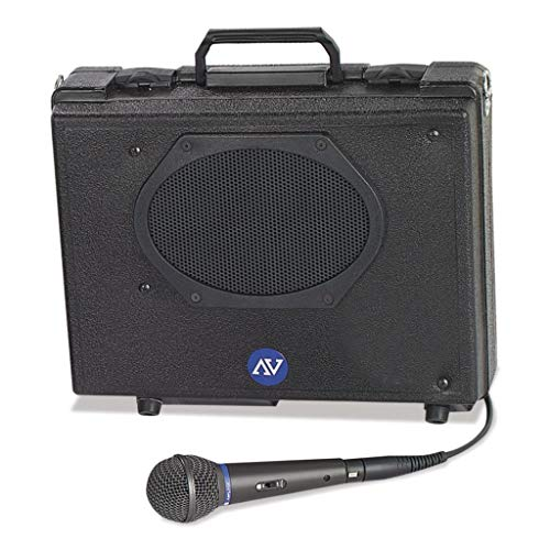 - APLS222 - Description : Jensen Speaker - AmpliVox Audio Portable Buddy with Wired Mic - Each