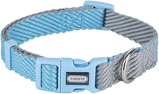 YUDOTE Dog Collar, Adjustable Collars Dog for Puppies and Small Medium Large Dogs with Sensitive Skin, Soft & Lightweight