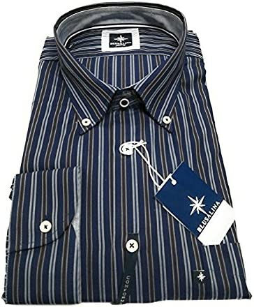 Blusalina Camisa de algodón conformado Talla 4XL, 5XL Turquesa 5X ...