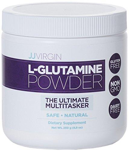 JJ Virgin - L-Glutamine Powder, Supports Digestive Health, 250g by The Virgin Diet