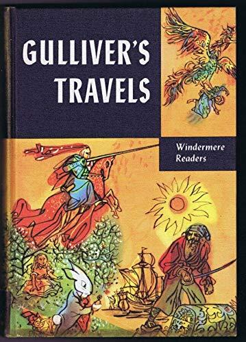 1956 Gulliver's Travels 3rd Print ORIGINAL Vintage Hardback Book Windermere