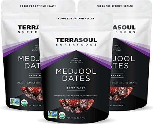 Dried Fruit & Raisins: Terrasoul Medjool Dates