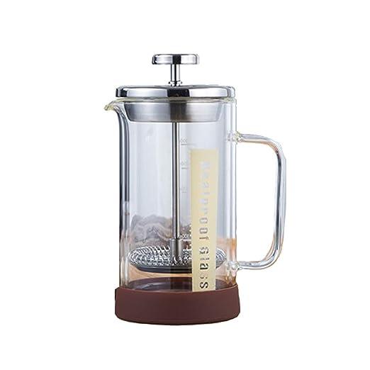 Prensa francesa cafetera, cafetera espresso de cristal cafetera ...