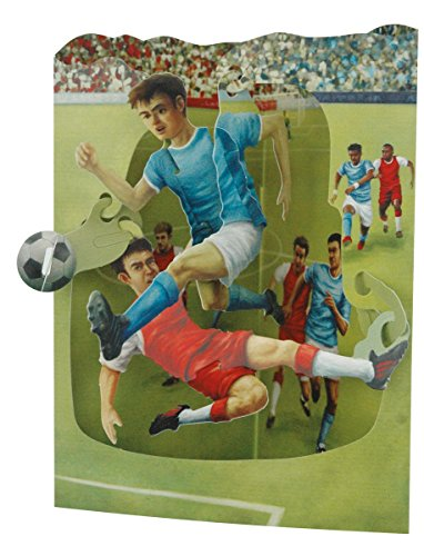 Santoro Interactive Greeting Soccer SSC138 product image