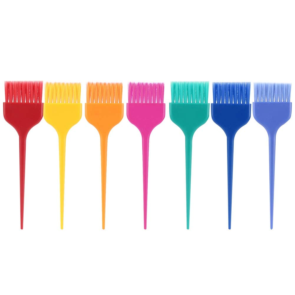 Hair Dye Brush Set,7Pcs XL Size Professional Hairdressing Tinting Brush Color Applicator for Hair coloring by Zetiling