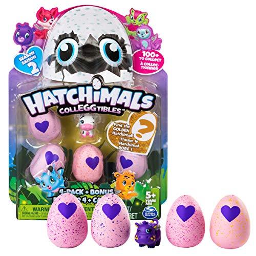 Hatchimals colleggtibles Pack 4 bonus saison 1 avec Golden hatchimal