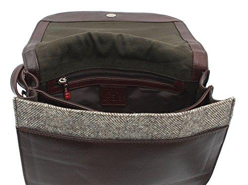 Collection Herringbone Leather 748 Shoulder 40 Bag Skin Bad Herringbone Abertweed And Tweed 15wB6cp7qH