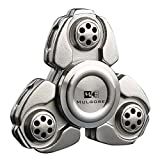 MULGORE Fidget Spinner Crusader Spinner Hot Explosion 2017 Hand Spinner Toys Russia CKF Aluminum Alloy (sliver)
