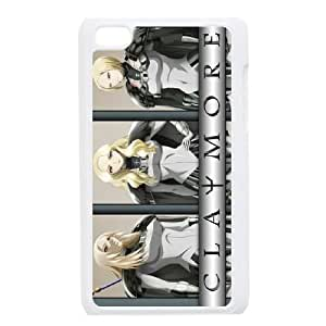 Claymore For Ipod Touch 4 Cases Cell phone Case Wmar Plastic Durable Cover
