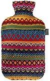 Fashy, Borsa dell'acqua calda con decorazione Perù, Multicolore (Mehrfarbig)
