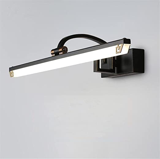 black bathroom lighting fixtures. Atmko®LED Mirror Light Lamp , Adjustable Angle Chinese Style Retro Black  Bath Lamps Black Bathroom Lighting Fixtures