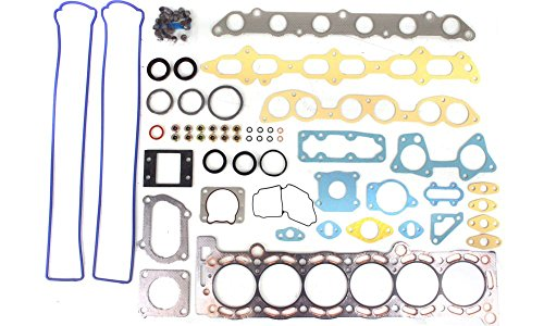 Toyota Supra Base (Evan-Fischer EVA12372051766 Cylinder Head Gasket Set for Toyota Supra 87-92 Multi-Layered Steel W/ Permadry Molded Rubber Valve Cover)