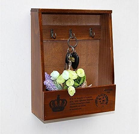 office key holder. Leoyoubei Mail, Letter Holder, Decorative Flowerpot, Key Holder Organizer Entrance, Kitchen, Office E