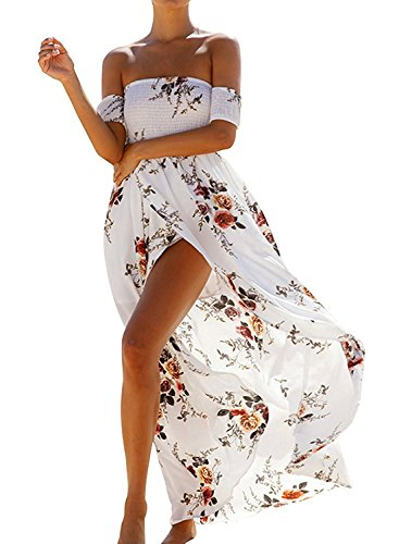 Farktop Womens Shoulder Chiffon Summer