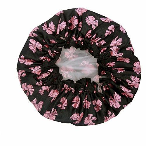 Leisial Bonnet de Douche Imperméable Protection Contre la Fumée pour le Maquillage Beauté Visage Propre ou un Bain Style 2 Leisial.
