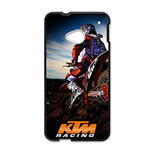 NICKER KTM Racing Cell Phone Case for HTC One M7
